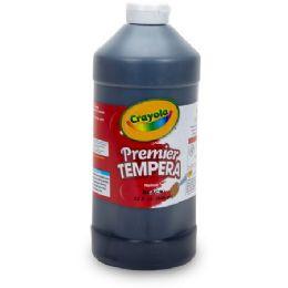 36 Units of Crayola 16 oz. Premier Tempera Paint - Paint, Brushes & Finger Paint