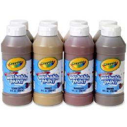 22 Units of Crayola Washable Paint 8-pack - Paint, Brushes & Finger Paint