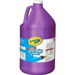 20 Units of Crayola Washable Paint - Paint, Brushes & Finger Paint
