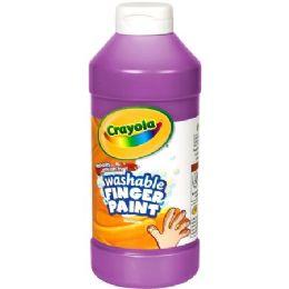 72 Units of Crayola Washable Finger Paint - Paint