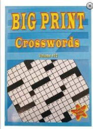 48 Units of LARGE PRINT 80PG CROSS WORD PUZZLES - Crosswords, Dictionaries, Puzzle books