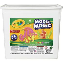 22 Units of Crayola Model Magic Neon Modeling Material Bucket - Office Supplies