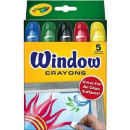 120 Units of Crayola Washable Window Crayons - Crayon