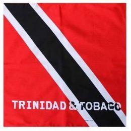 600 Units of Cotton Country Theme Trinidad & Tabago Bandana - Bandanas