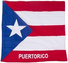 600 Units of Cotton Country Theme Puerto Rico Bandana - Bandanas