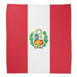 600 Units of Cotton Country Theme Peru Bandana - Bandanas