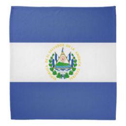 600 Units of Cotton Country Theme El Salvador Bandana - Bandanas