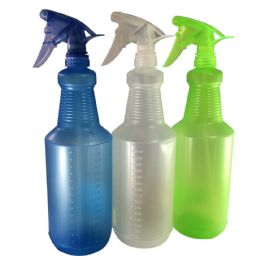 24 Units of 32 OZ Spray Bottle With Trigger - Spray Bottles