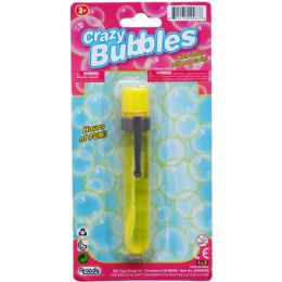"48 Units of 4.75"" Bubble Stick In Blister Card - Bubbles"