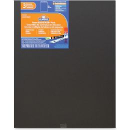 124 Units of Elmer's 3-pack Black Foam Boards - Office Supplies