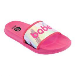 48 Units of Girls Babe Sandals In Fuschia - Girls Flip Flops