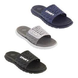 36 Units of Mens Shower Flip Flip In Assorted Color - Men's Flip Flops and Sandals