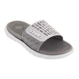 36 Units of Mens Shower Flip Flip In Gray - Men's Flip Flops and Sandals