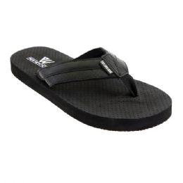 36 Units of Mens Flip Flip In Black - Men's Flip Flops and Sandals