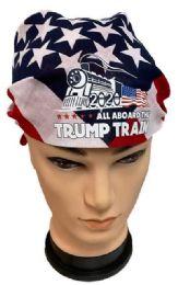 24 Units of Trump 2020 Train Flag style Bandana - Bandanas