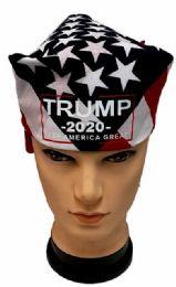 24 Units of Trump 2020 Flag style Bandana - Bandanas