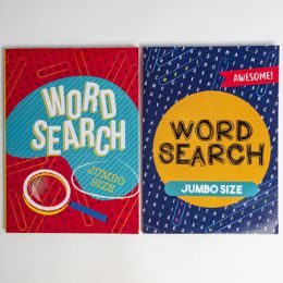 24 Units of Word Find Large Print 80 Pg 2 Assorted - Crosswords, Dictionaries, Puzzle books