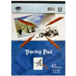 "48 Units of Tracing Pad 9"" x 12"" 40 Sheets - Paper"