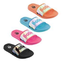 48 Units of Women's Babe Sandals Assorted - Women's Flip Flops