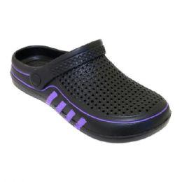 36 Units of Women's Clogs In Black - Women's Sandals
