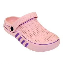 36 Units of Women's Clogs In Pink - Women's Sandals