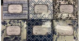 12 Units of FULL SIZE PRINTED MICROFIBER SHEET SETS - Sheet Sets