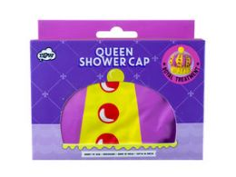 72 Units of Queen of the Shower - Shower Cap - Shower Accessories