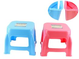 24 Units of Mini Stool Assorted Color - Home Accessories
