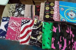 600 Units of Assorted Cotton Paisley Bandana Mixed Prints, Mixed Colors BULK Bandannas - Bandanas