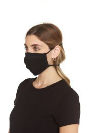 12 Units of Black Washable and Reusable Face Mask Cover - PPE Mask