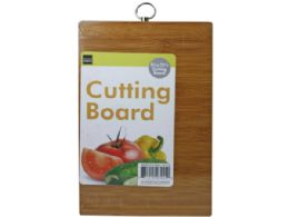 36 Units of Rectangle Cutting Board With Hanging Loop Hook - Cutting Boards