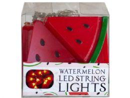 18 Units of Decorative Watermelon String Lights - Lightbulbs