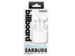 6 Units of Billboard Bluetooth True Wireless Earbuds With Charging Case - Headphones and Earbuds
