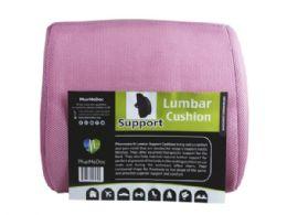12 Units of Pharmedoc Pink Lumbar Pillow Seat Cushion - Pillows