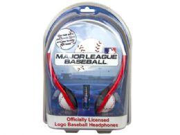 36 Units of Boston Red Sox Mlb Baseball Cap Headphones - Headphones and Earbuds