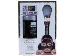 36 Units of Megastar Glitter PeeL-Off Mask With Applicator - Skin Care