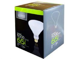 60 Units of Living Solutions 65 Watt Soft White Flood Light Bulb - Lightbulbs