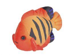 24 Units of Wild Republic Sea Critters Plush Angelfish Flame - Plush Toys