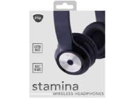 6 Units of Ihip Stamina Bluetooth Over The Ear Headphones - Headphones and Earbuds