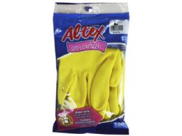 72 Units of Altex Gloves Sensations Clotton Lined Cleaning Gloves- Small - Kitchen Gloves