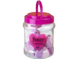18 Units of Juicy Couture Bath Fizzers In Jar - Bath And Body