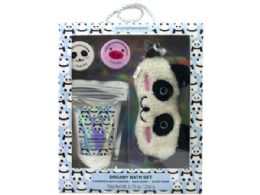 18 Units of Hello Critters Sleep Mask And Fizzer Set - Skin Care