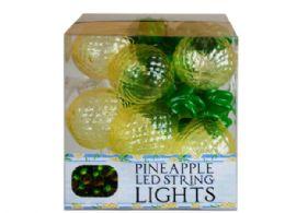 12 Units of Decorative Pineapple String Lights - Lightbulbs