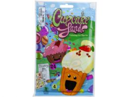 72 Units of Cupcake Land 24 Page Coloring Pouch With Crayons And Sticker - Coloring & Activity Books
