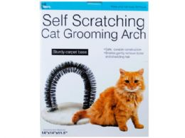 6 Units of Self Scratching Cat Grooming Arch - Pet Accessories