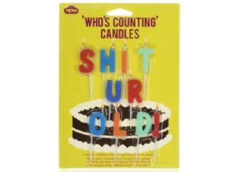 72 Units of Sh*t Ur Old Birthday Candles - Birthday Candles