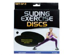 12 Units of Sliding Exercise Discs - Fitness and Athletics