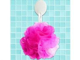 72 Units of Hot Pink Mesh Net Body Sponge - Shower Accessories