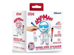 6 Units of Ampman Dry Erase Diy White Bluetooth Speaker - Speakers and Microphones