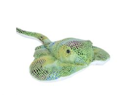48 Units of Wild Republic Plush Green Glitter Stingray - Plush Toys